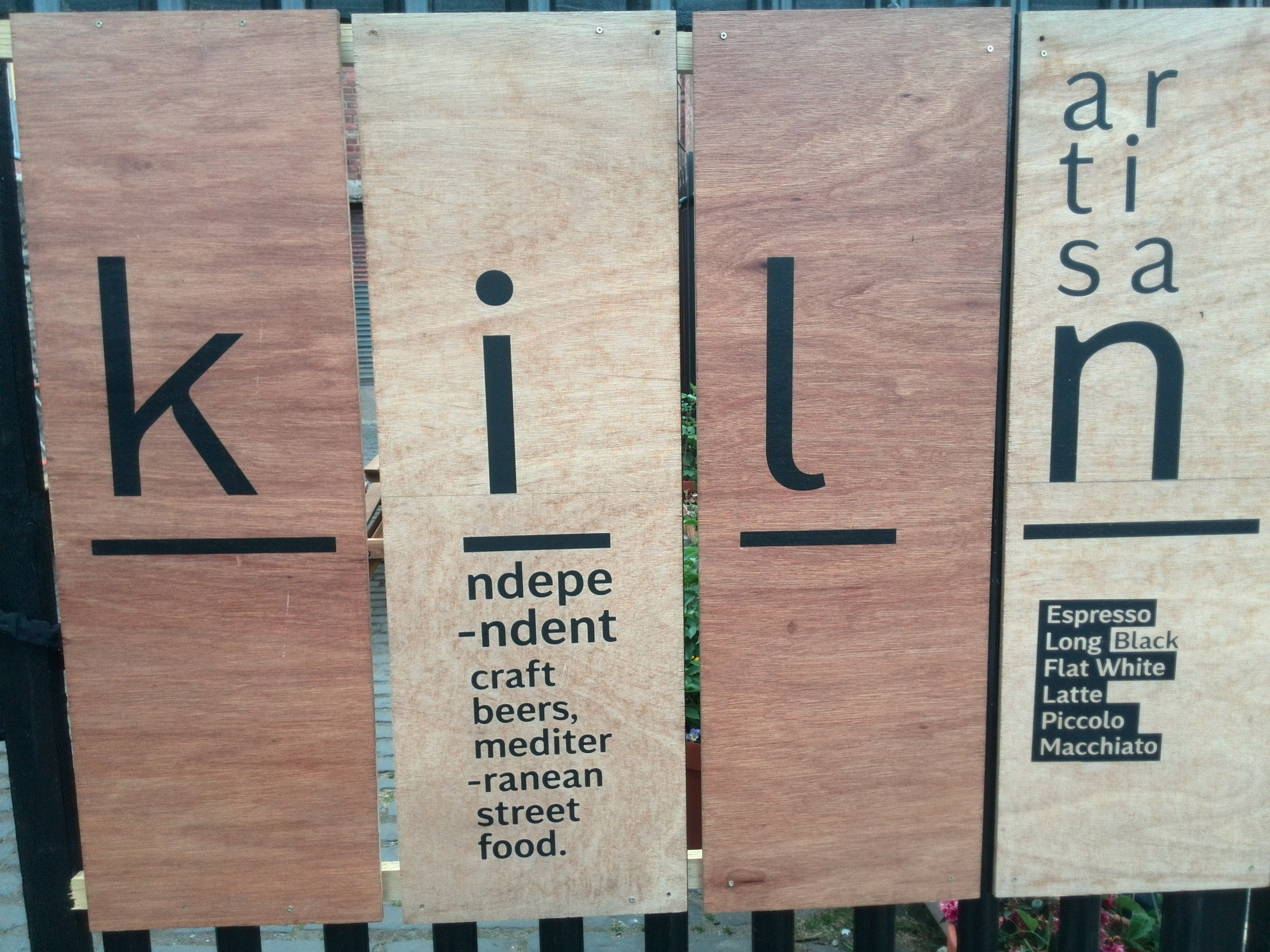 The Kiln Sign